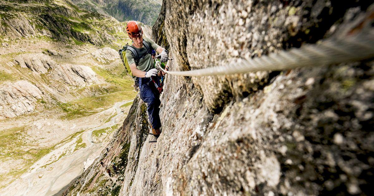 Klettersteigset Schweiz : Sicher unterwegs auf dem klettersteig schweizer alpen club sac