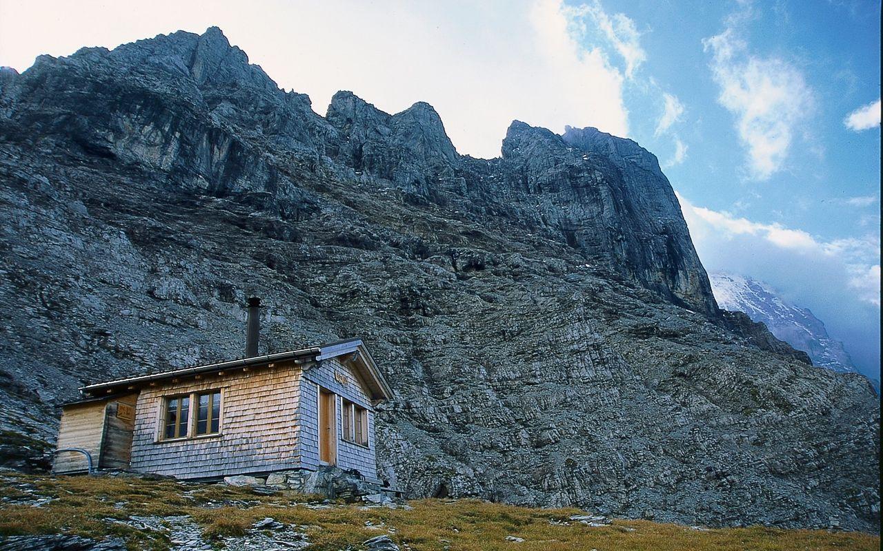 Klettersteig Ostegghütte : Eiger ostegghütte klettersteige schweizer alpen club sac