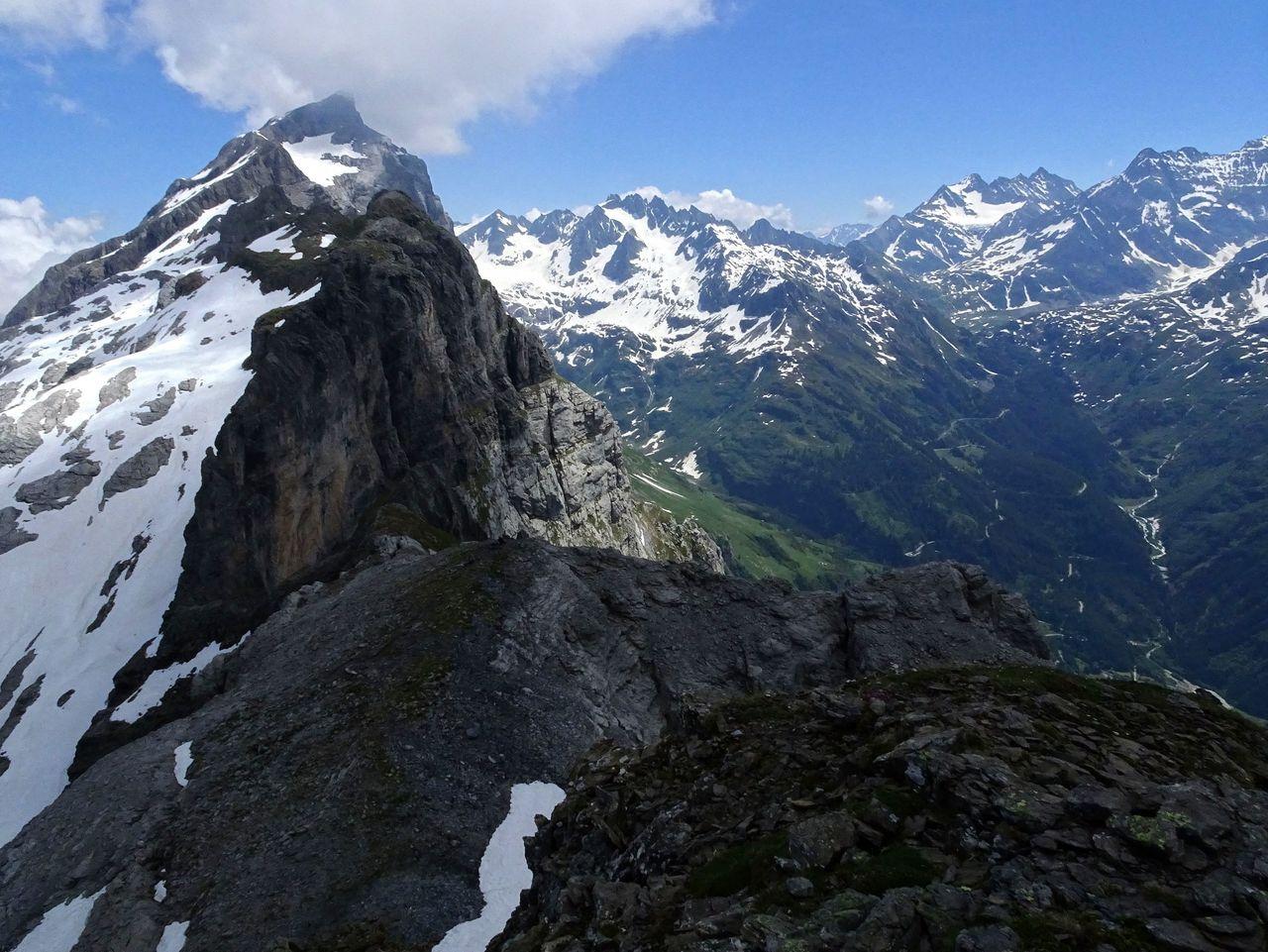 Klettersteig Tälli : Gadmerflue ausstieg tällistock klettersteig klettersteige