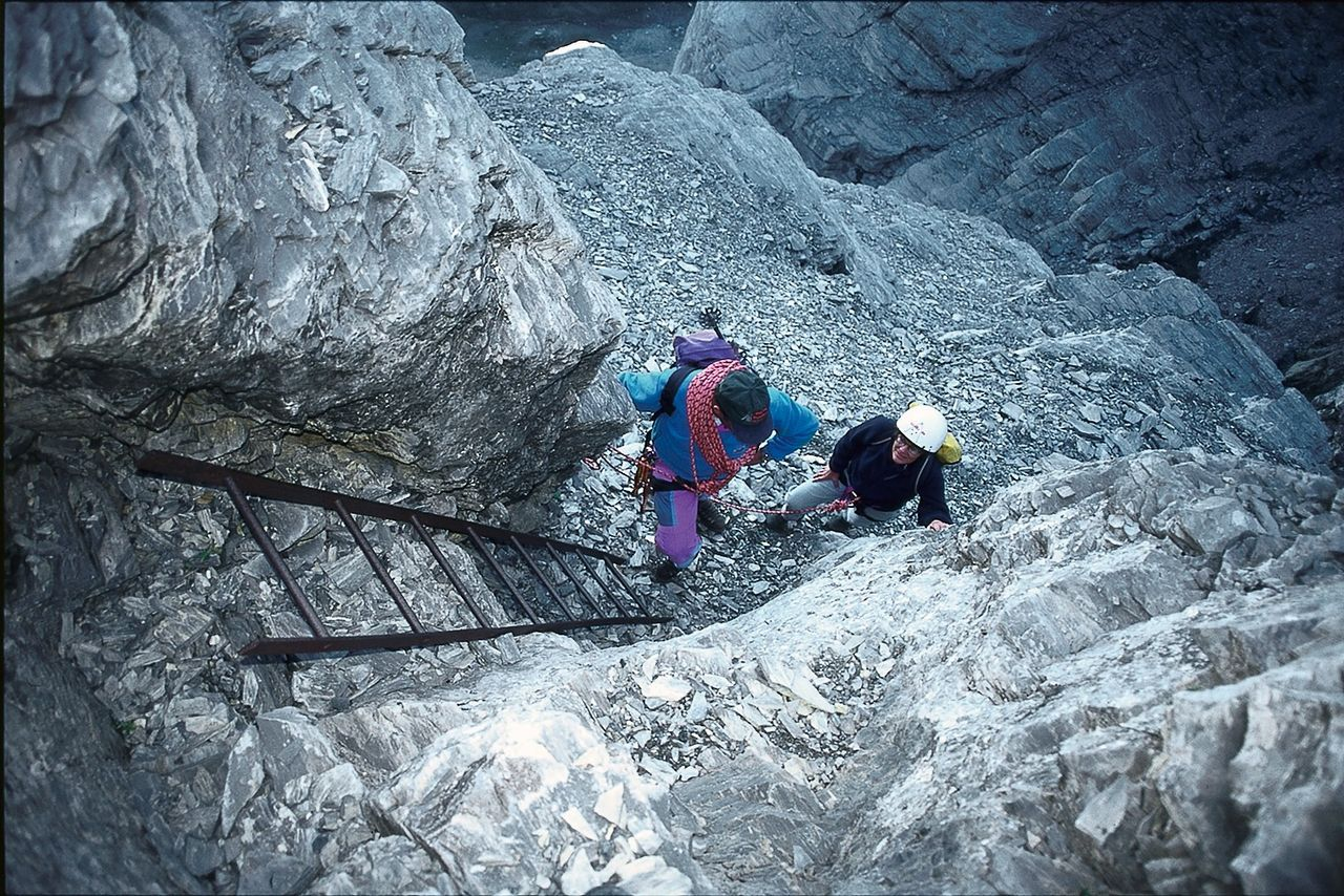 Klettersteig Eiger : Eiger rotstock klettersteig klettersteige be