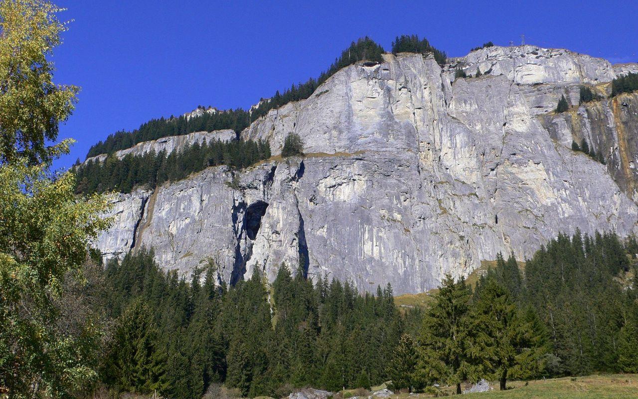 Klettersteig Piz Mitgel : Flimser stein via ferrata swiss alpine club sac