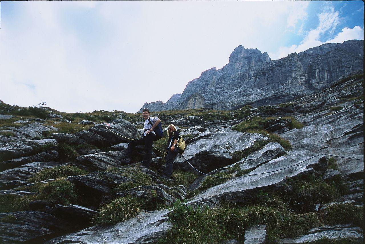 Klettersteig Ostegghütte : Klettersteig eiger ostegg klettersteige ostegghütte