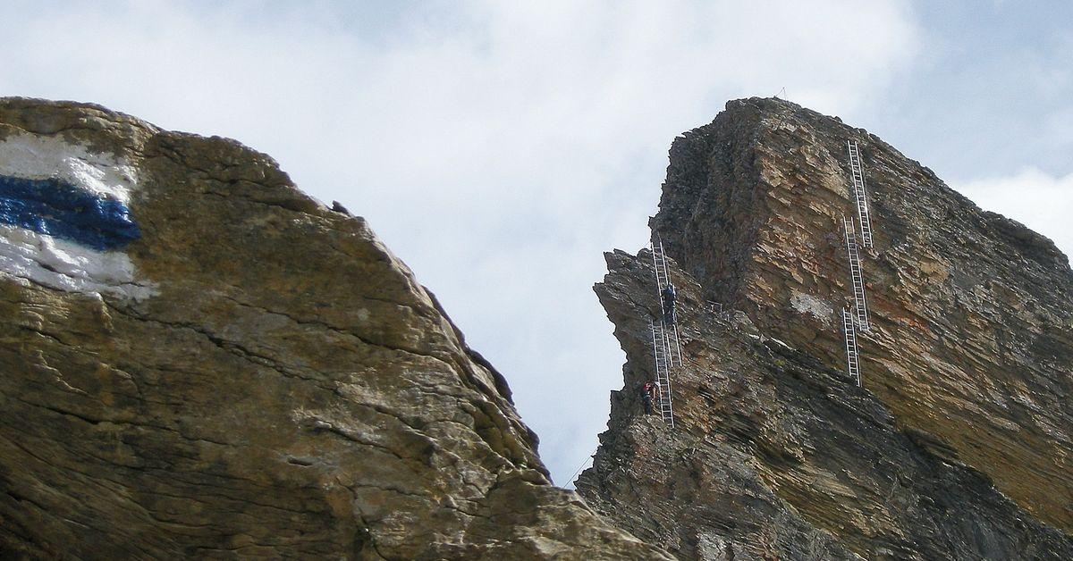 Klettersteig Grindelwald : Schwarzhorn klettersteig grindelwald klettersteige