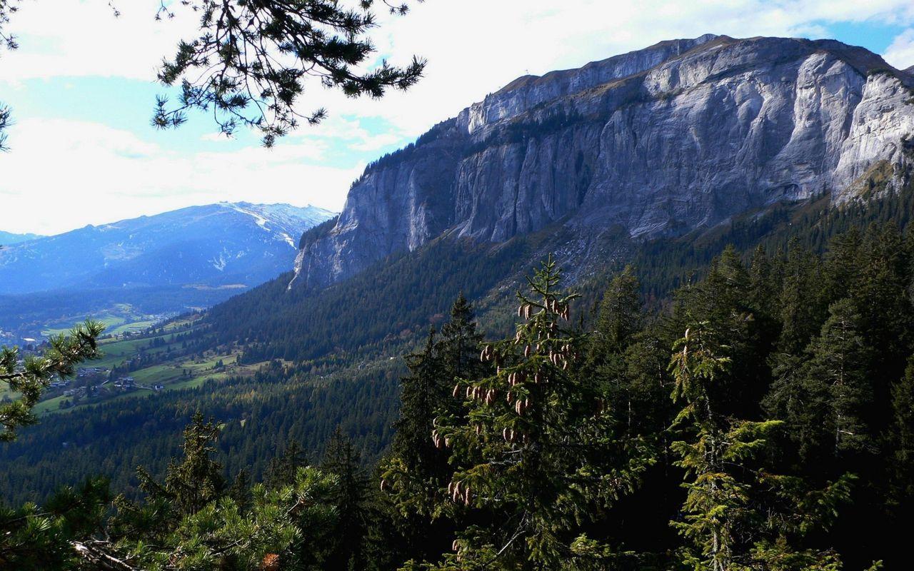 Klettersteig Flimserstein : Flimser stein klettersteige schweizer alpen club sac