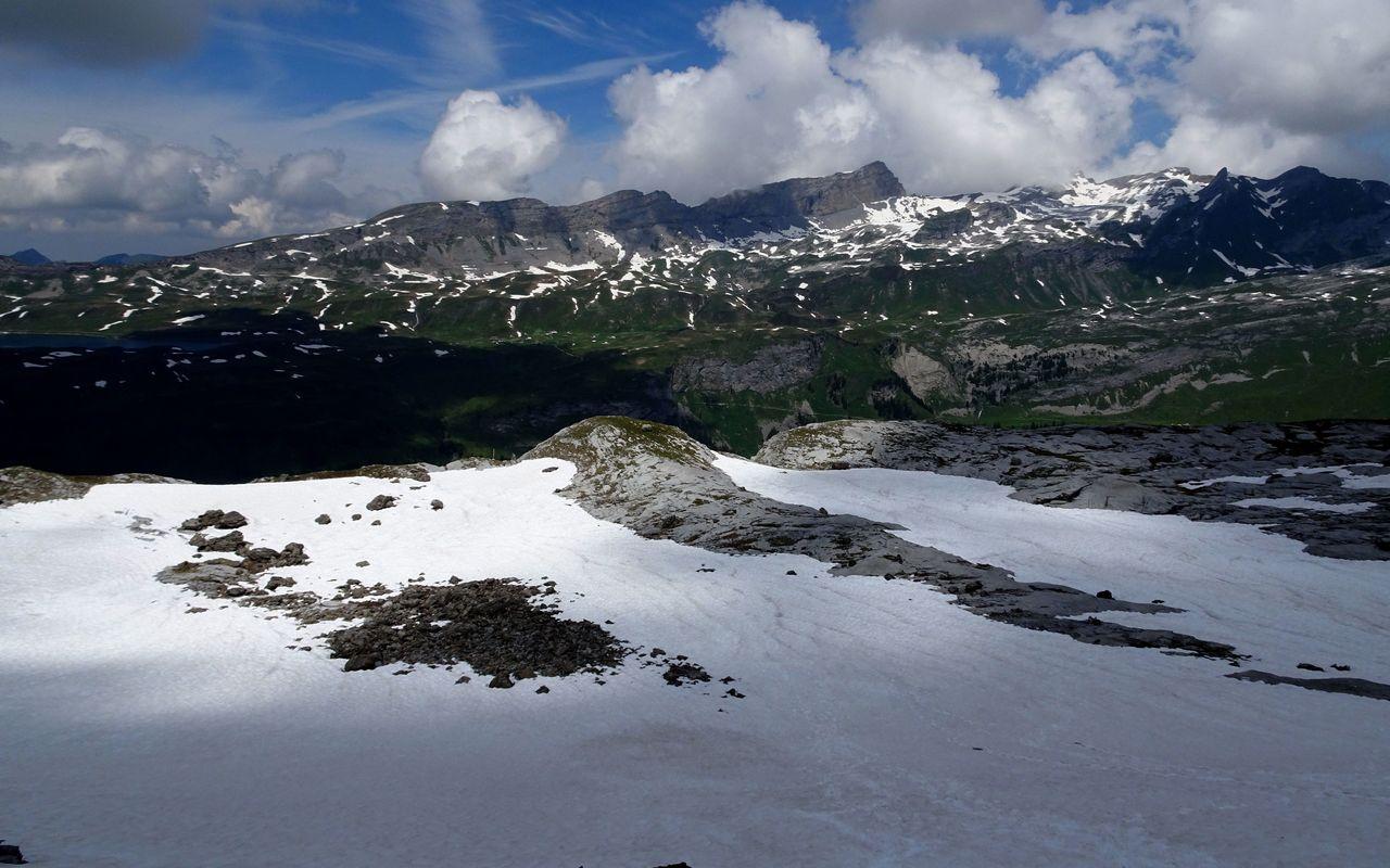 Klettersteig Tälli : Abstieg vom tälli klettersteig zur tällihütte oder engstlenalp