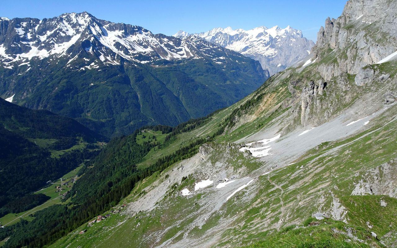 Klettersteig Tälli : Zustieg zum tälli klettersteig berg und alpinwandern