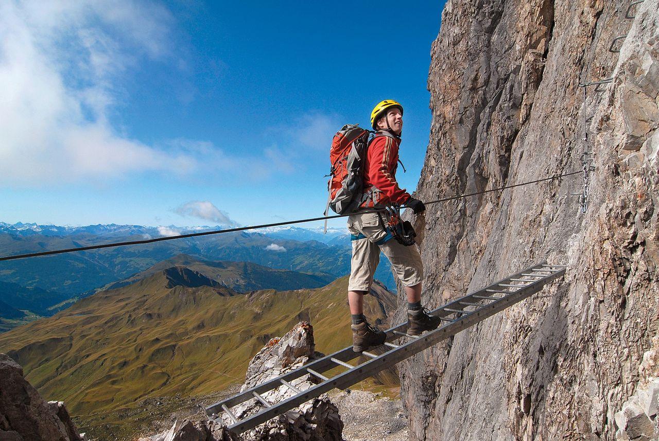 Klettersteig Sulzfluh : Sulzfluhklettersteig via ferrata sulzfluh club alpino