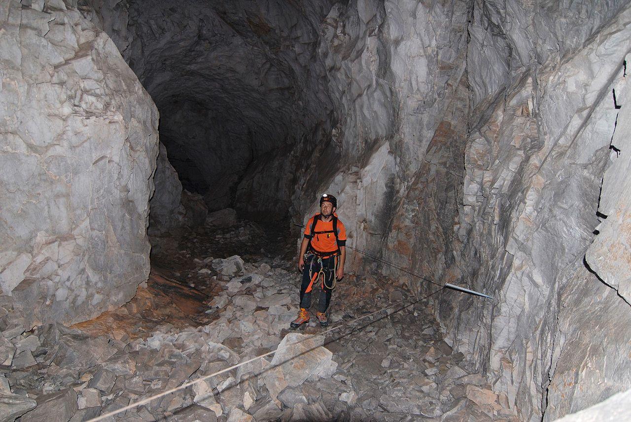 Klettersteig Sulzfluh : Gauablickhöhle klettersteig via ferrata sulzfluh swiss