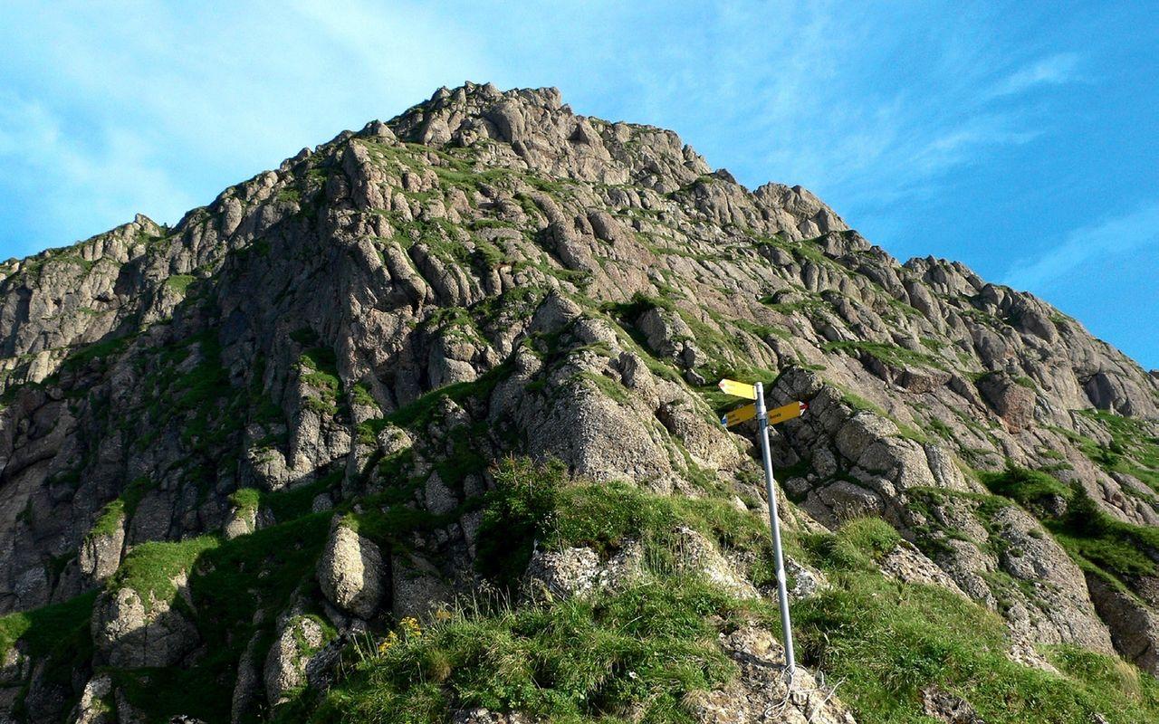 Klettersteig Speer : Von der wolzenalp über die nordkante mountain hiking speer