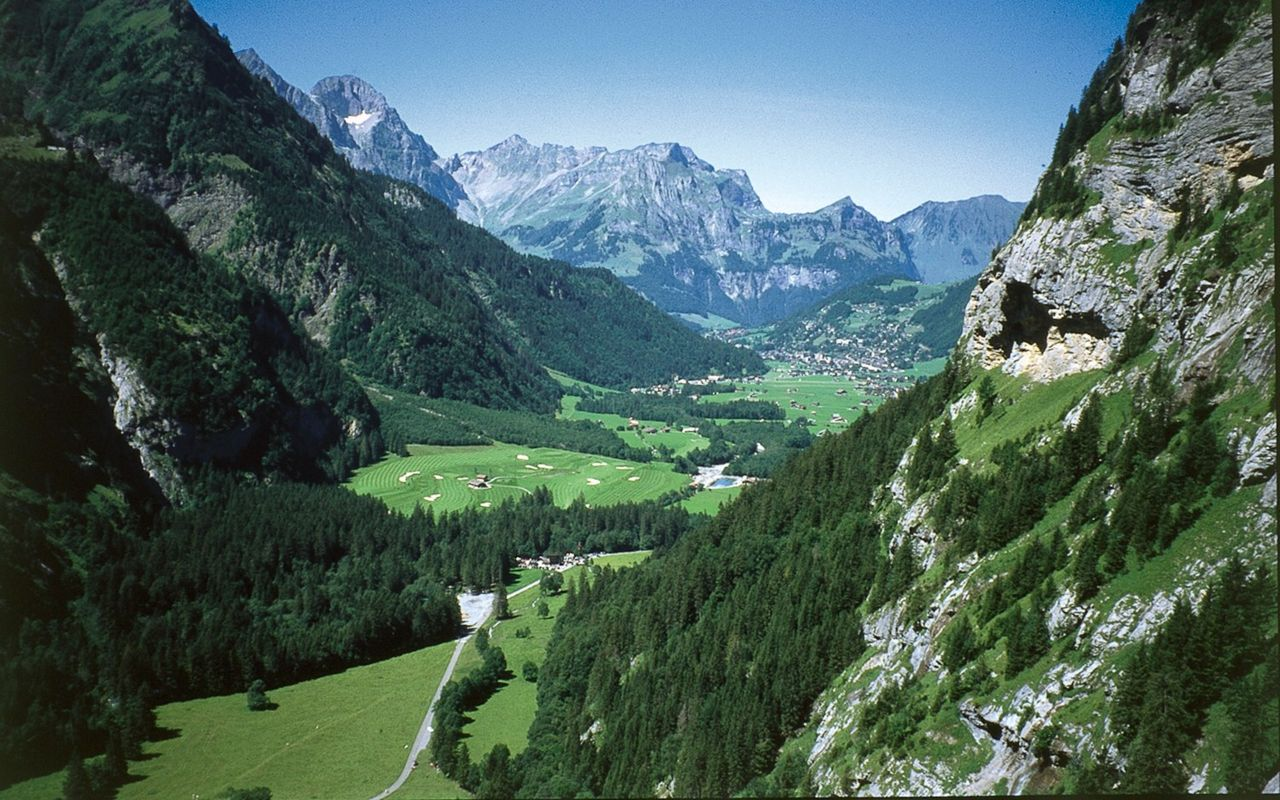 Klettersteig Fürenwand : Fürenalp klettersteige schweizer alpen club sac