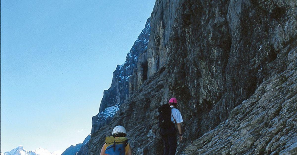 Klettersteig Eiger : Zustieg rotstock klettersteig berg und alpinwandern