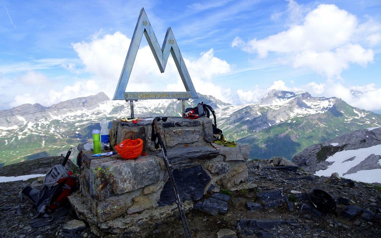 Klettersteig Tälli : Tälli klettersteig klettersteige gadmerflue ausstieg