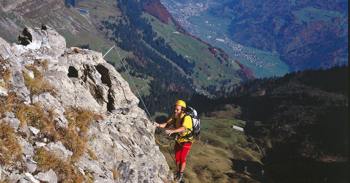 Klettersteig Nähe Zürich : Klettersteig braunwald eggstöcke abschnitt und